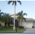 This four-bedroom, 3-bathroom, one-half-bath courtyard home, at 445 Savoie Drive, Palm Beach Gardens has 4,120 square feet and sits on a quarter acre in Frenchman's Reserve with lake and golf […]