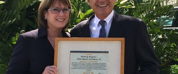 Visiting Angels, a family-owned, private-duty home-care company in Palm Beach Gardens, has earned the Best of Home Care Award from Home Care Pulse, a nationwide, independent, quality-assurance organization. Visiting Angels..