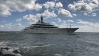 """Michael Rafferty, IYC broker, wrote: """"This 533-foot yacht came in the Palm Beach inlet today at 1220 hours. It is owned by Roman Abramovich. It is the second largest yacht […]"""